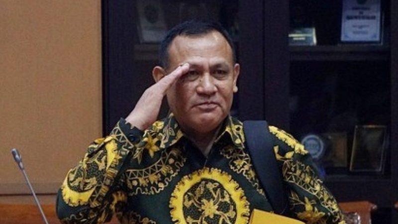 Ketua KPK Terpilih Naik Bintang 3