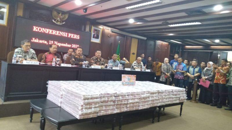 Koruptor Kembalikan Uang Negara Rp477,33 Miliar