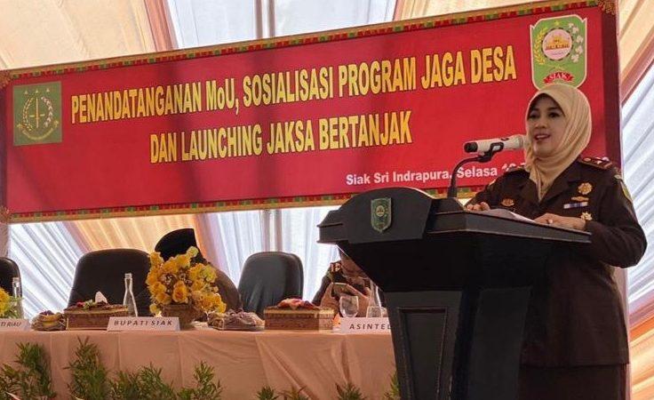 Kajati Riau Luncurkan 'Jaksa Bertanjak'
