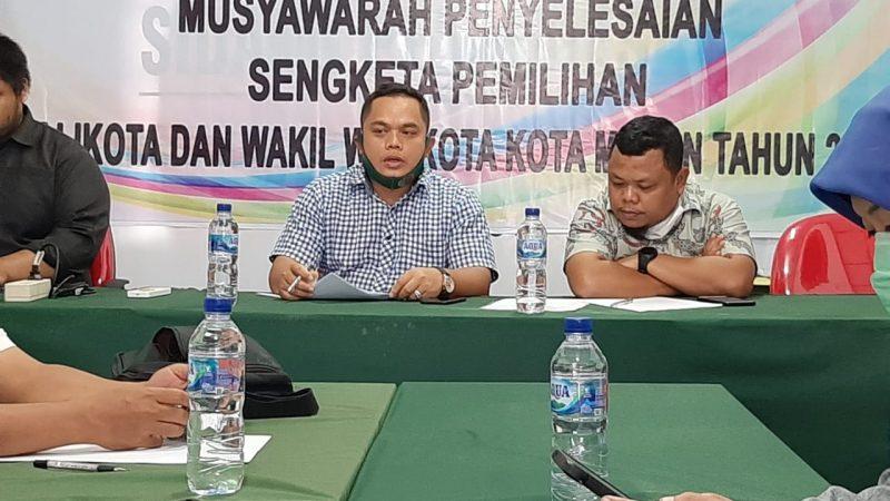 Bawaslu Peringatkan KPU Kota Medan