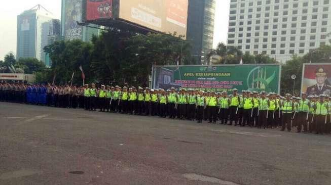 3.327 Personel Gabungan Amankan Idul Adha