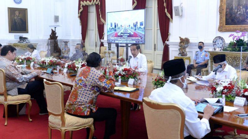 Soal Covid dan Realisasi Anggaran, Ini Arahan Jokowi