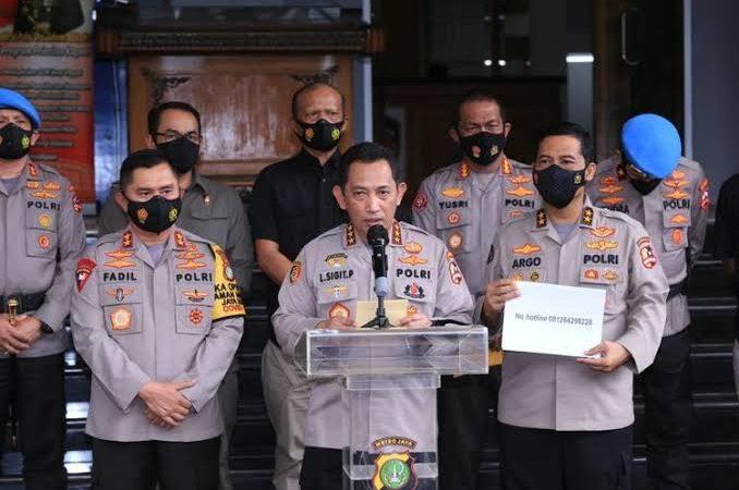 Presiden Jokowi Tunjuk Kabareskrim Sebagai Calon Tunggal Kapolri