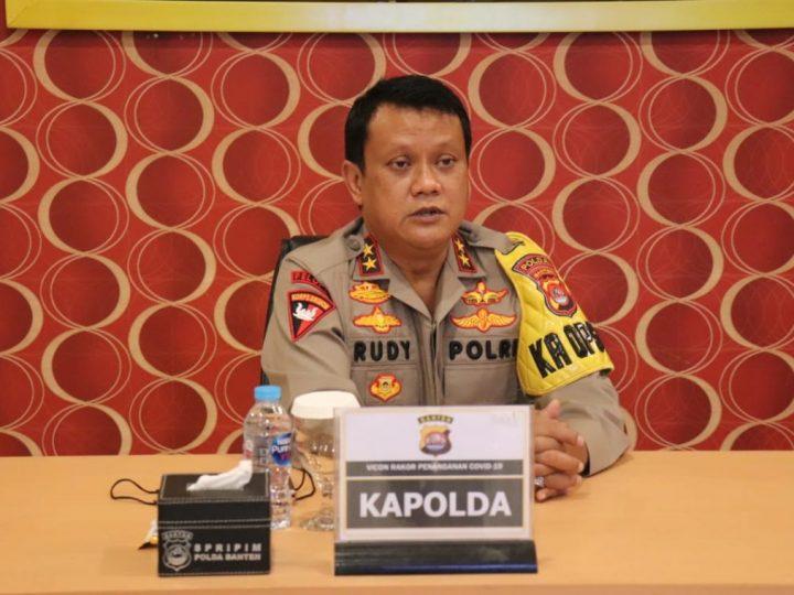 Kapolda Banten Tekankan Jajaran Polres untuk Mengurangi dan Memutus Penyebaran Covid-19