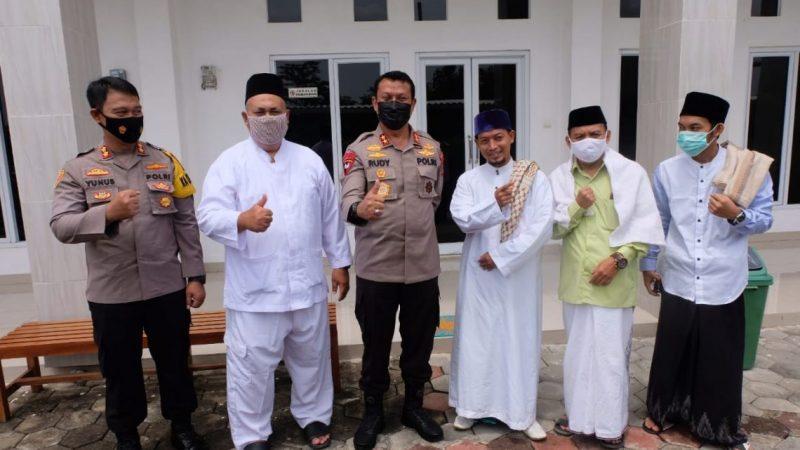 Kapolda Banten Safari Kamtibmas Kunjungi Ulama dan Tokoh Banten