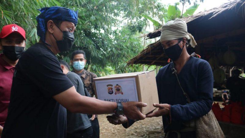 Kapolda Banten Sowan ke Sesepuh Adat Baduy