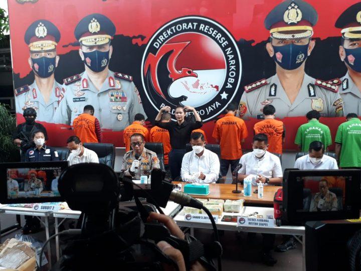 Narkoba Masih Marak, Jaringan Riau Dibekuk Polisi