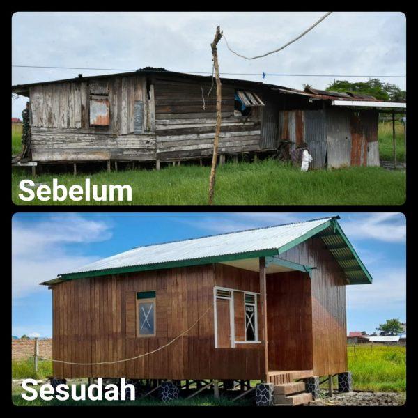 Danrem 174 Merauke Serahkan Kunci Rehab Rumah Tidak Layak Huni Kepada Keluarga VeteranPejuang Kemerdekaan RI 1