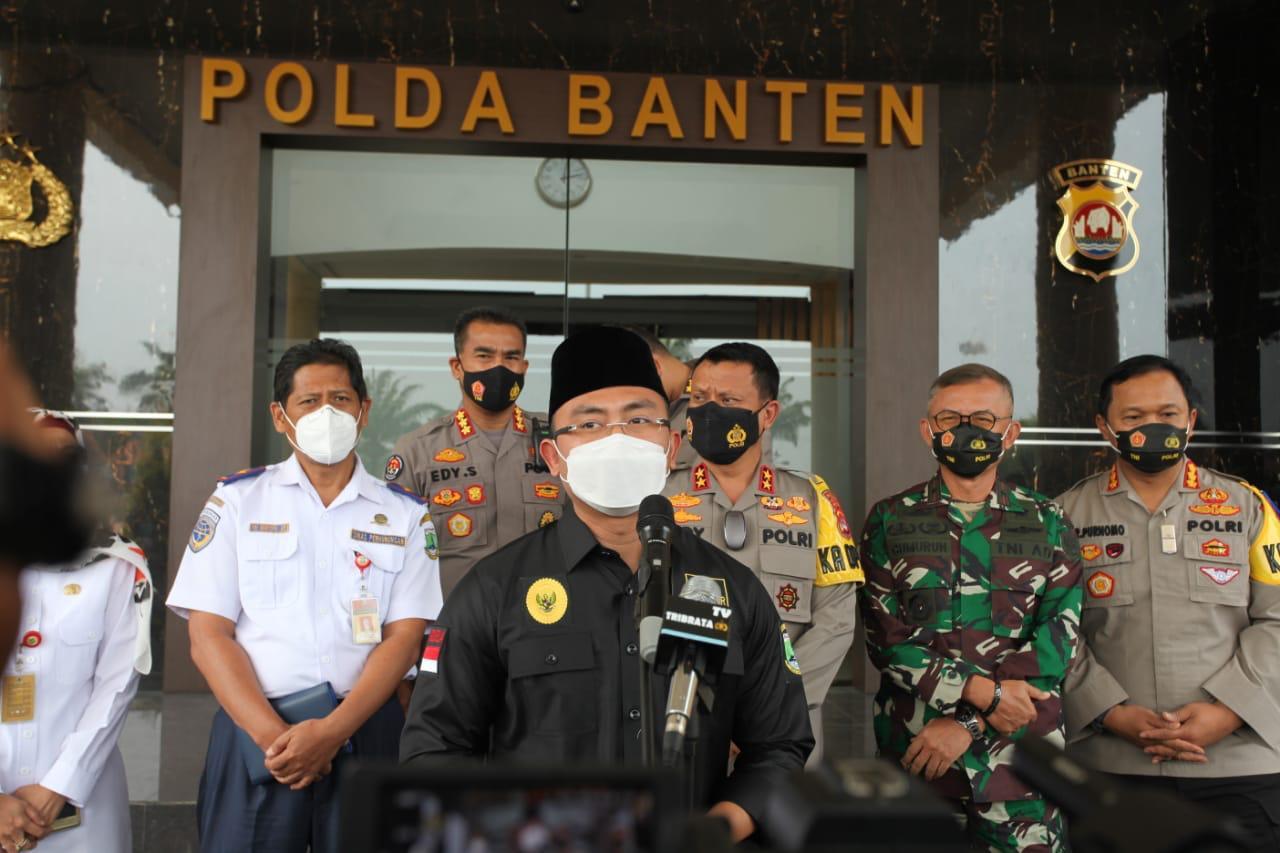 Siap Amankan Larangan Mudik, Wagub Banten Minta Tokoh Masyarakat Bantu Imbau Warga
