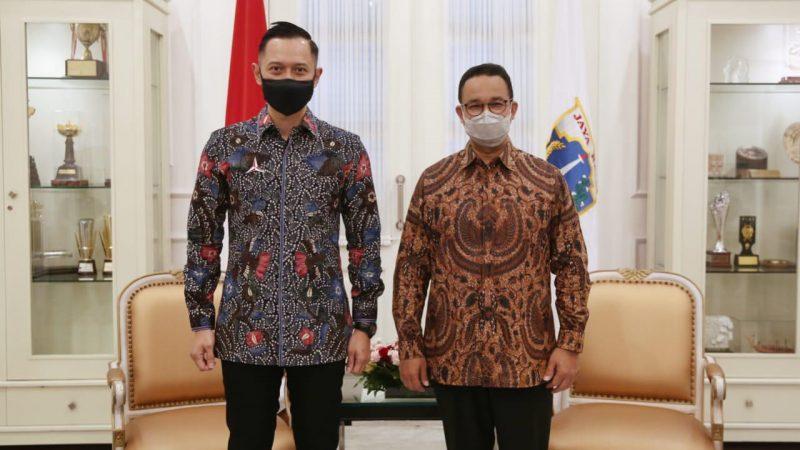 AHY Sambangi Anies di Balai Kota Jakarta, Ada Apa?