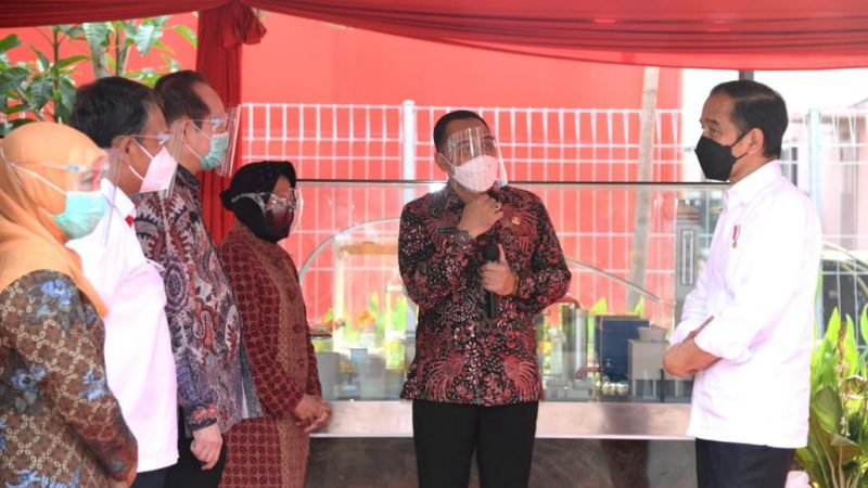Resmikan PSEL TPA Benowo, Jokowi : Mimpi Saya Sejak Walikota Solo