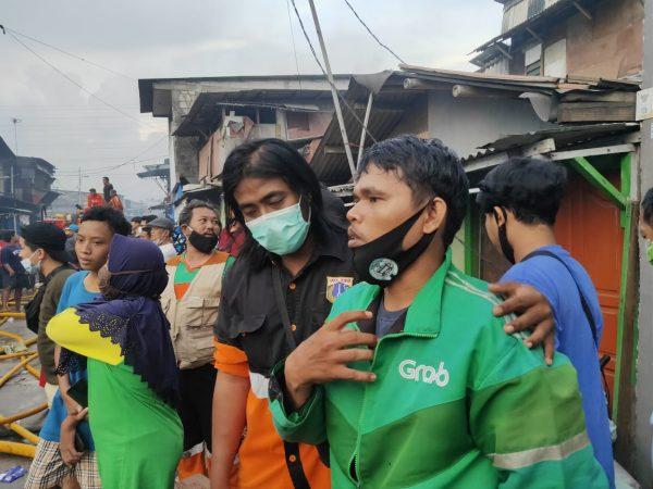 Sejumlah Rumah Terbakar di Pademangan, Korban: Hanya Tersisa Kulkas 1