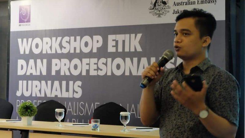 Terkait Pembunuhan Wartawan, Ketua AJI Sumut: Demokrasi Diambang Senja