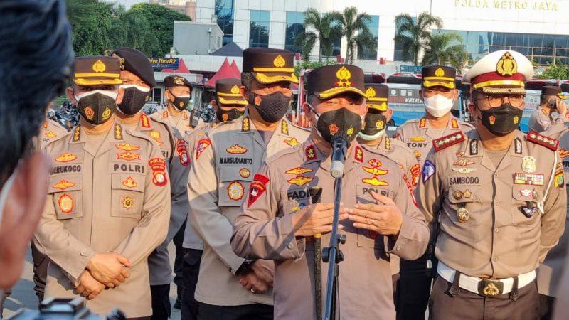 Kapolda Metro Jaya Minta Kerumunan Ditindak Tegas