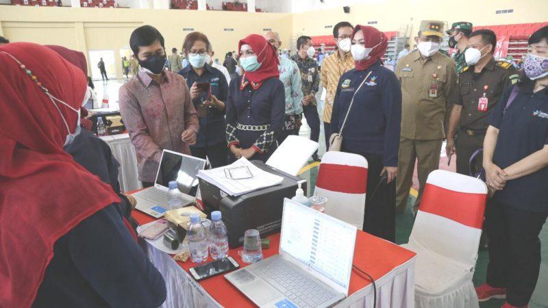 Pemprov Banten Gelar Vaksinasi Covid-19 Massal dengan Target 200 Ribu Sasaran