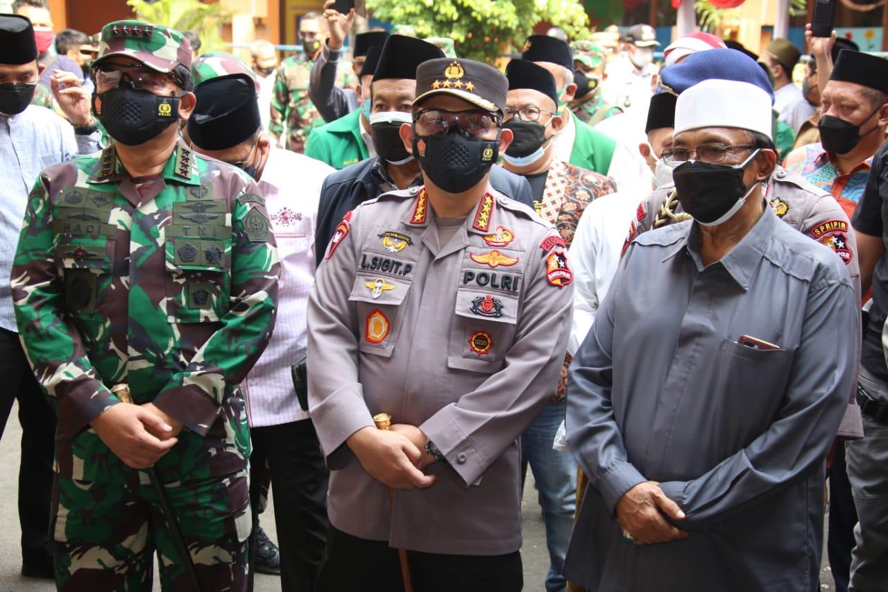 Kapolri, Panglima TNI dan Ketua PBNU Bertemu, Ini yang Dilakukan
