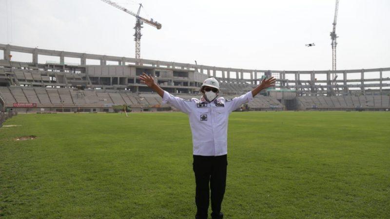 Gubernur WH Optimis Pembangunan Stadion Banten Selesai Desember 2021