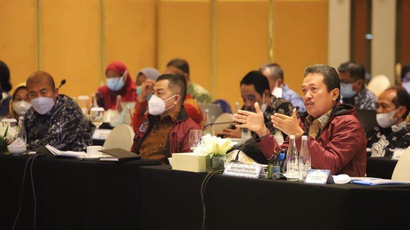 KKP-Komisi IV Bahas Program Prioritas KKP Periode 2021-2024 di FGD