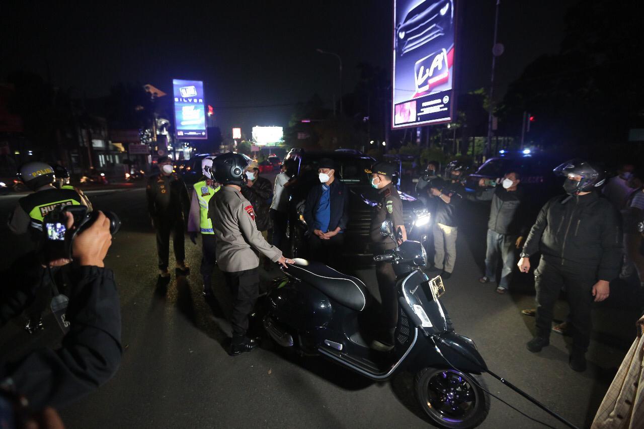 Sidak PPKM Darurat, Gubernur Banten: Masyarakat Sudah Ada Kesadaran