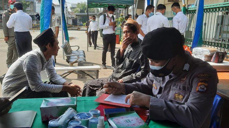 Tim Operasi Pelaksanaan PPKM Darurat Lakukan Penertiban di Kabupaten Lebak