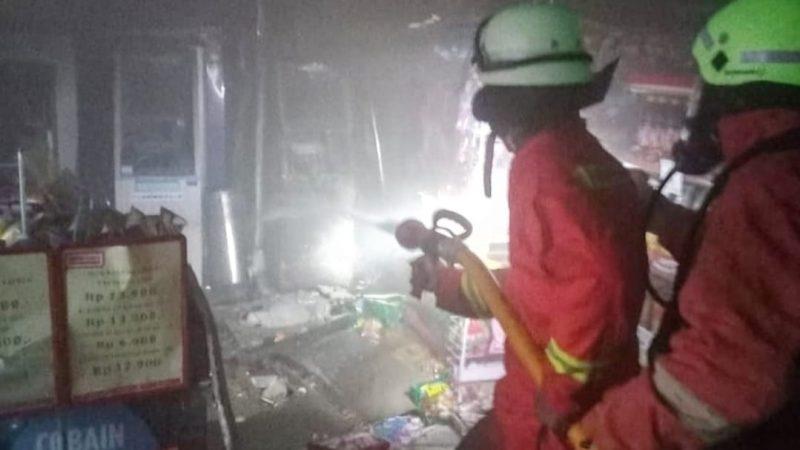 Minimarket di Priok Ludes Dilalap Sijago Merah