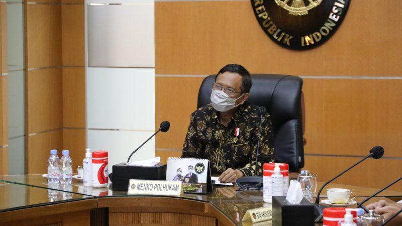 Mahfud MD Harap Tokoh Agama Berperan Aktif Tangani Pandemi Covid-19