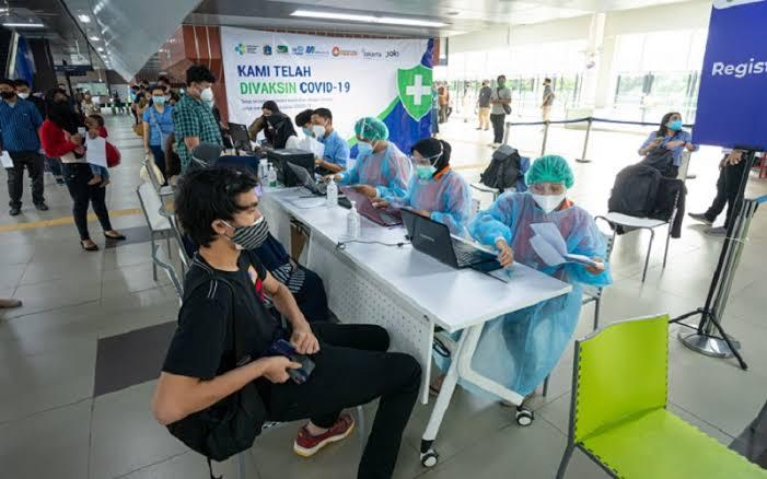 PT MRT Kembali Gelar Vaksinasi Covid di Stasiun