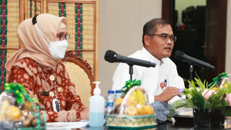 Plt. Sekda Muhtarom: Pemprov Banten Berkomitmen Cegah Stunting