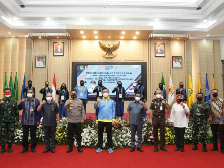 Targetkan Masuk 10 Besar di PON XX Papua, Wagub Andika Minta Warga Banten Mendoakan