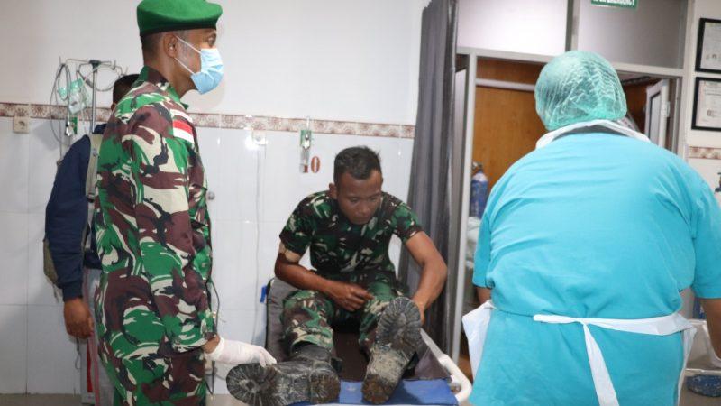 Korban Kekejaman dan Kebiadaban KST di Kiwirok Jalani Perawatan
