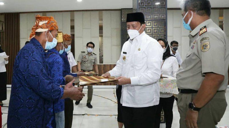 Gubernur Banten: Penyerahan Sertipikat Tanah Bentuk Perhatian Pemerintah