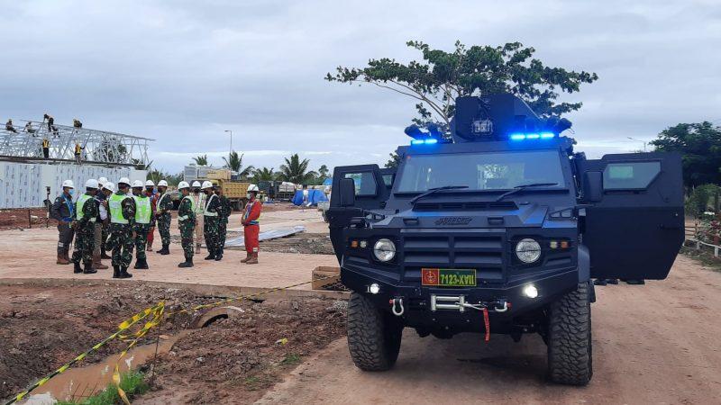 Dukung Pengamanan PON XX, Danrem 174 Merauke Siapkan Kendaraan Taktis