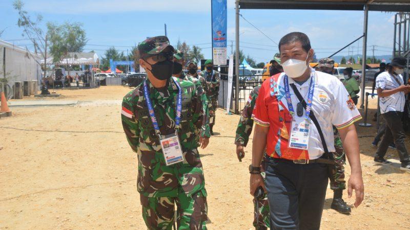 Pangdam XVII/Cenderawasih Cek Kesiapan PengamananVenue PON XX di Jayapura