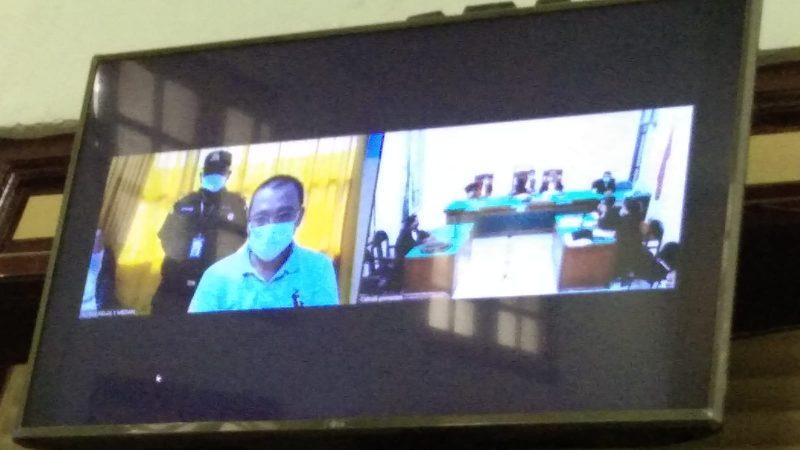 Korupsi Videotron Direktur PMM Dituntut 4,5 Tahun Penjara