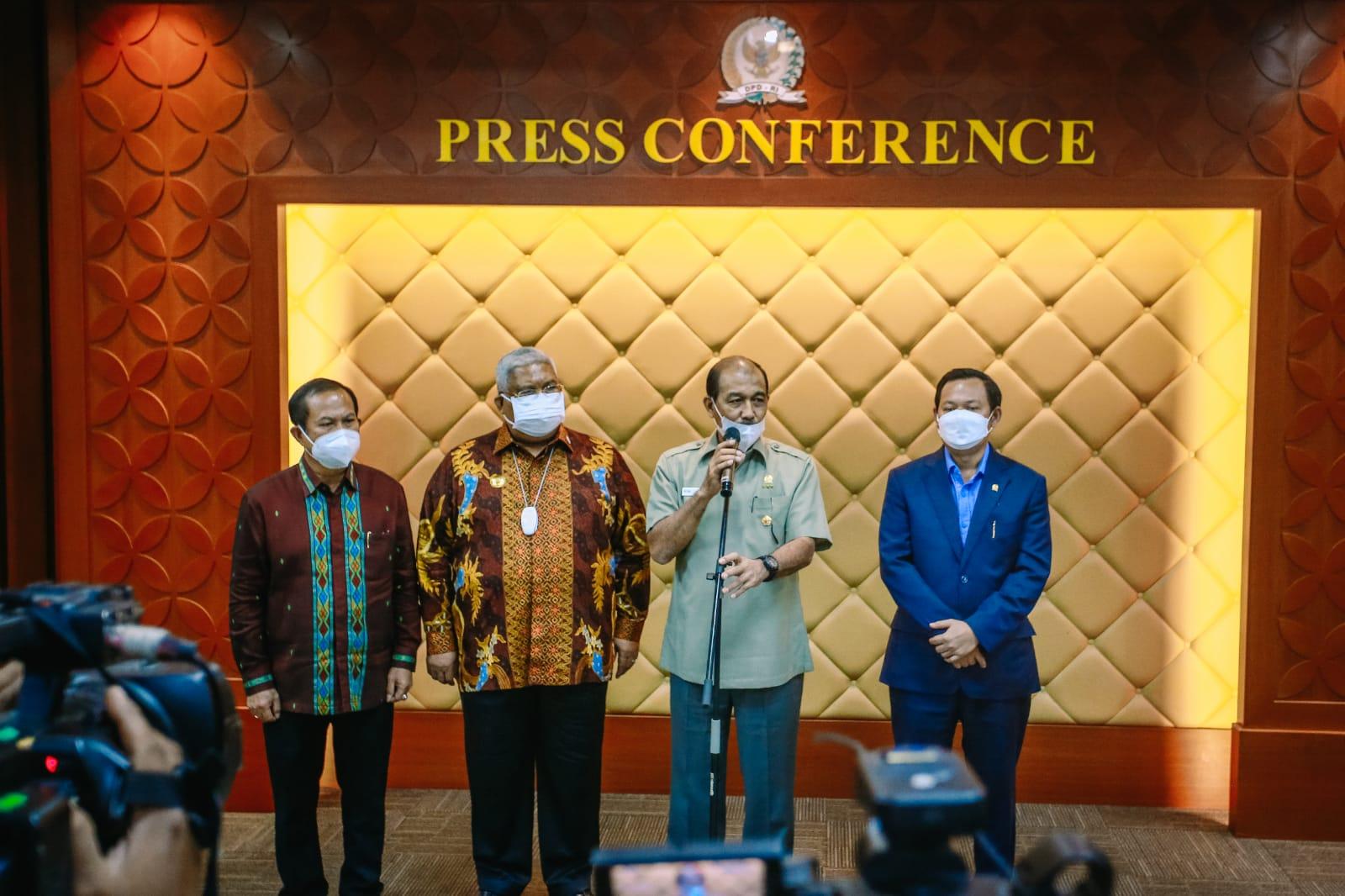 DPD RI Telah Serahkan Draf RUU Kepulauan, DPR RI Tak Bahas