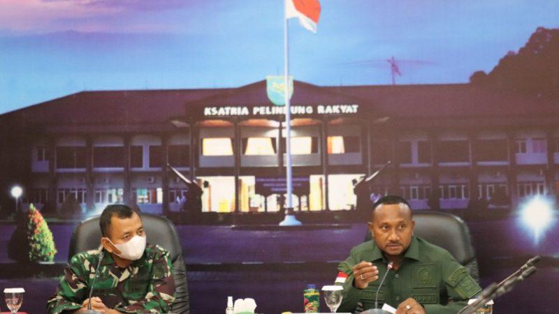 Komisi I DPR RI Kunker ke Kodam XVII/Cenderawasih