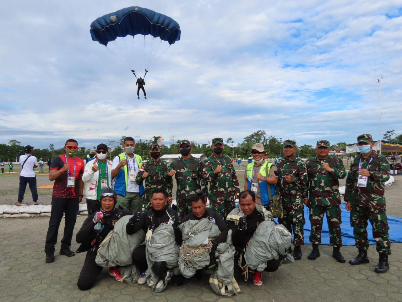 Pangdam XVII/Cenderawasih Dampingi Kunjungan Kerja Dankodiklatad dan Danpussenif Kodiklataddi Mimika