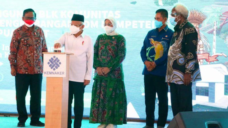 Pangdam XVII/CenderawasihDampingi Kunker Wapres RIdi Papua