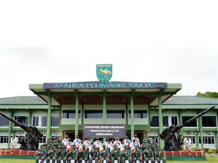 Pangdam XVII/Cenderawasih Apresiasi Atlet Papua Berprestasi di PON XX