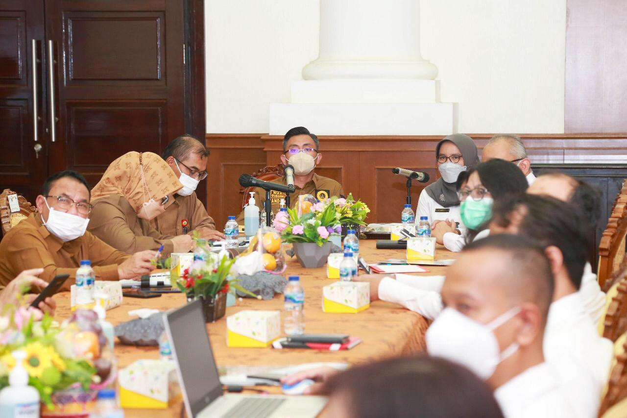 BPK Audit Program yang Dibiayai Pusat, Wagub Banten Perintahkan OPD Responsif
