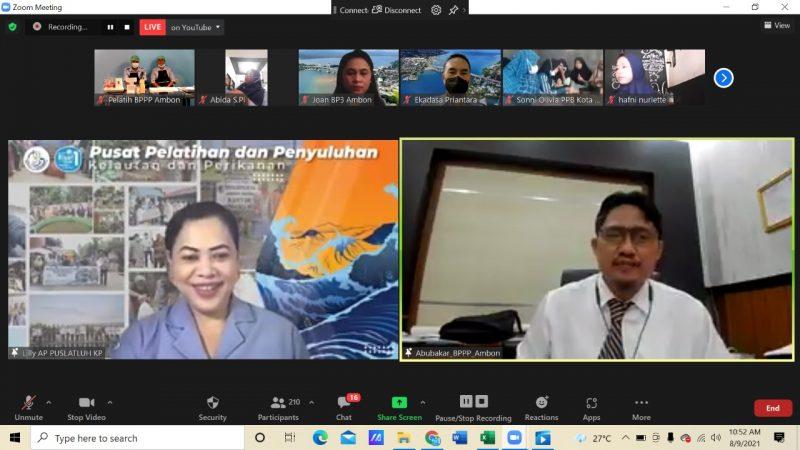 KKP Gelar Pelatihan Diversifikasi Pengolahan Ikan