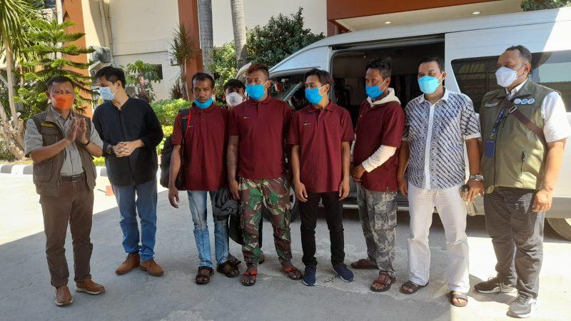 Evakuasi dan Pulangkan Awak Kapal Perikanan KM Hentri-I, KKP Pastikan Hak dan Jaminan Sosial Terpenuhi
